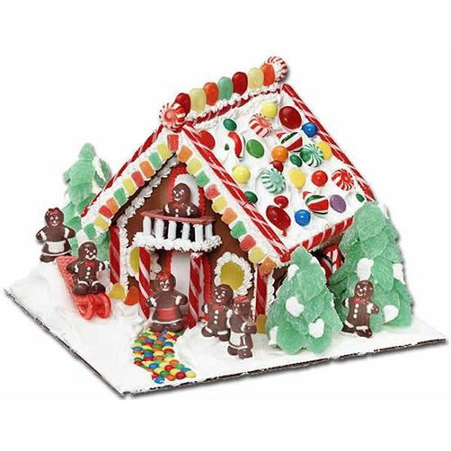 The Best of Times Gingerbread House
