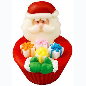 Santa's Holiday Handfuls Cupcakes