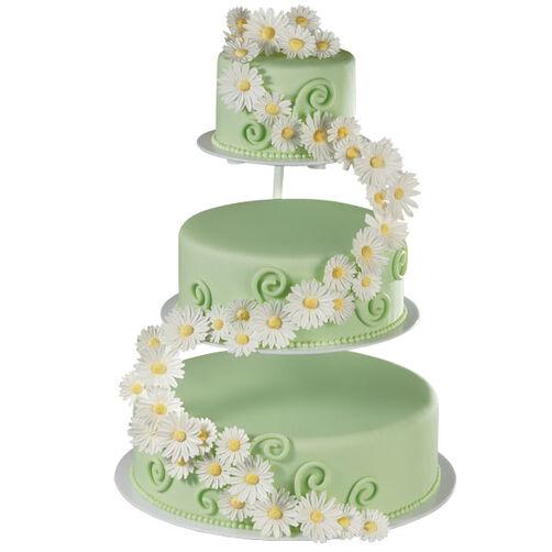 Petal Procession Cake