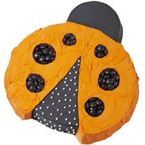 Polka Dot Ladybug Cake