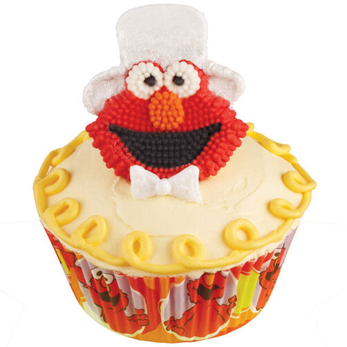 Elmo's Showtime Cupcakes