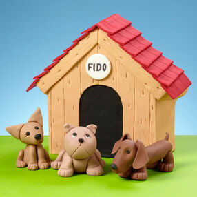 Fidos? Fun House Cake