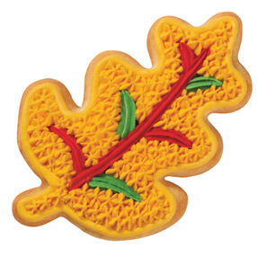 Harvest Leaf Fall Cookie