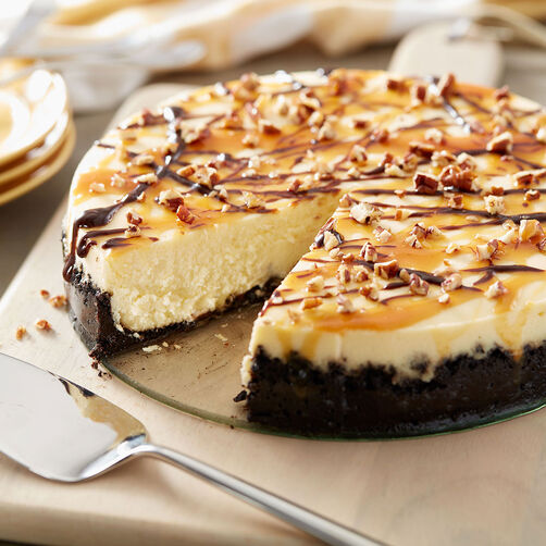 Classic Turtle Cheesecake