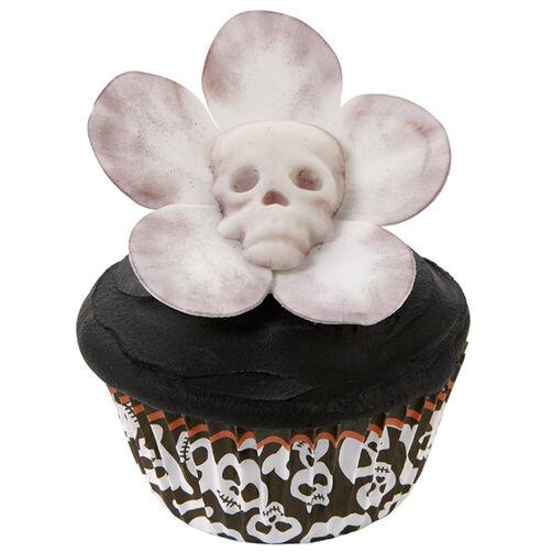Pushing Up Daisies Halloween Cupcakes