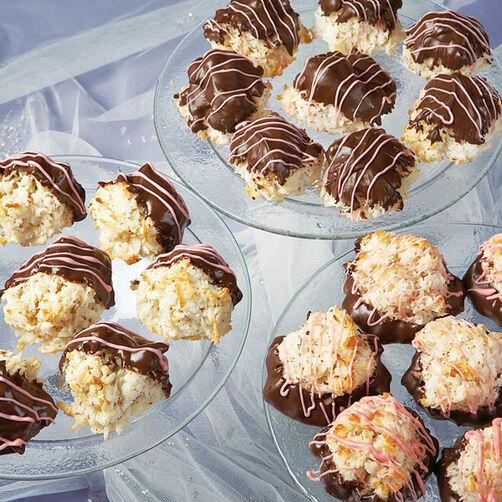 Chocolate Coconut Macaroons Recipe Wilton