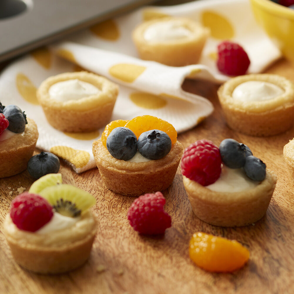 Delicious Mini Fruit Tarts Recipe Wilton