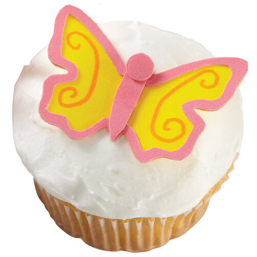 Brilliant Butterfly Cupcakes