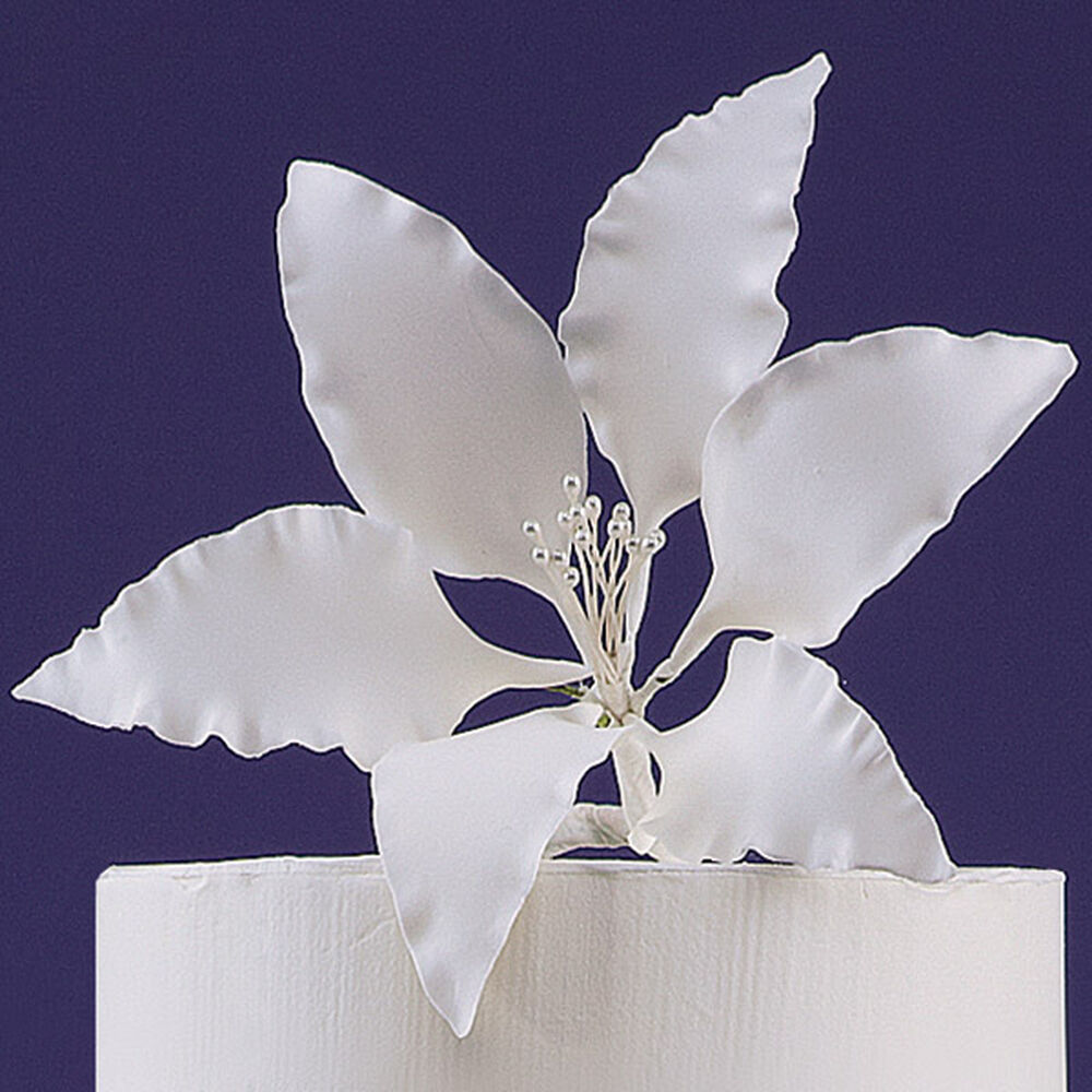 wilton gum paste flowers instructions