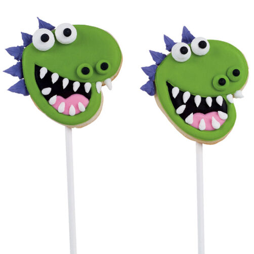 Dragon Cookie Pops