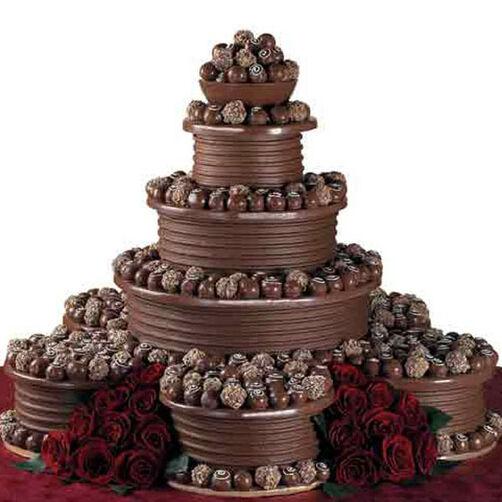 Truffle Tower Cake