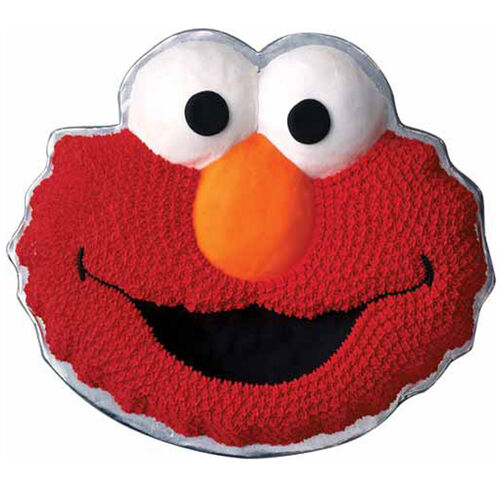 Elmo Cake Decorating Instructions : Elmo Cake Wilton
