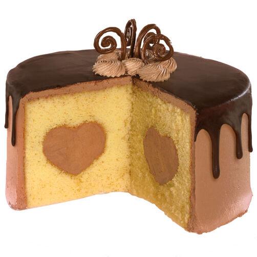 Chocolate Ganache Mousse Cake