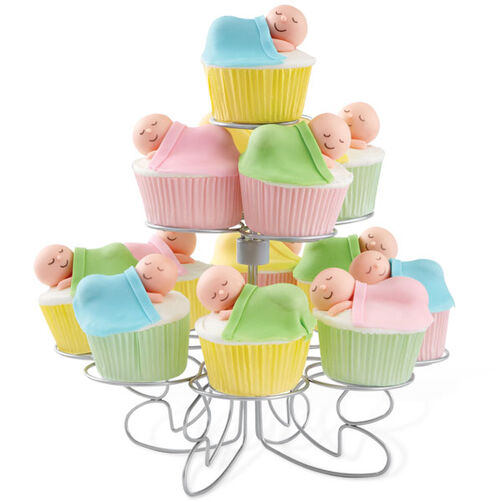 Quiet Please Sleeping Baby Cupcakes