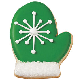 Warm, Wooly Christmas Mitten Cookies