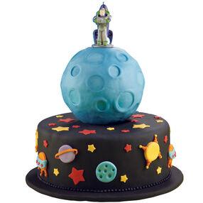 Buzz Shoots the Moon Cake