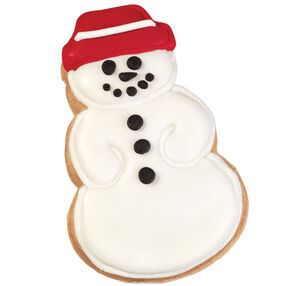 Shining Snowman Pan Cookies