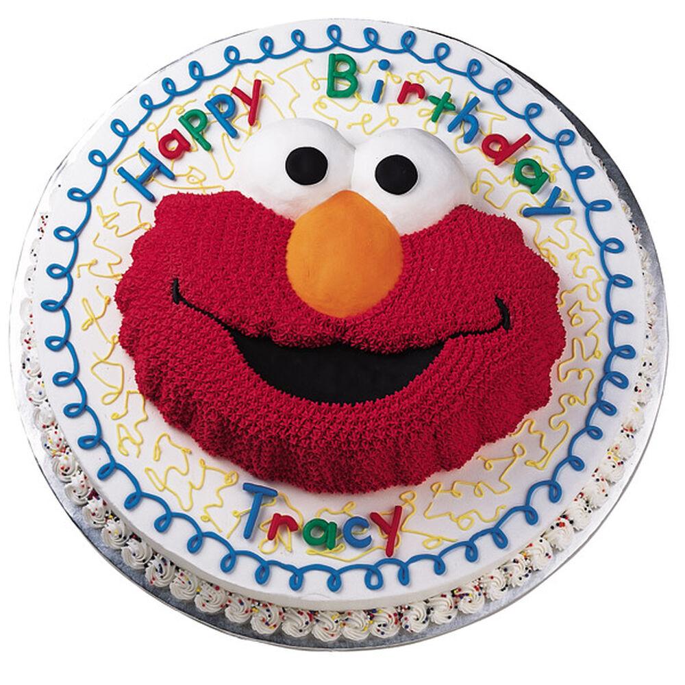 Elmo Draws a Crowd Cake  Wilton