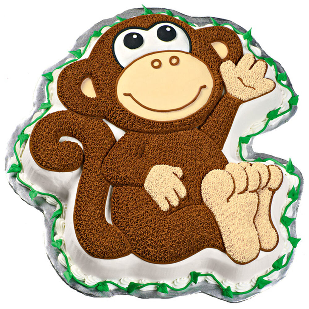 Monkey Cake Design Easy : Monkey Cake Wilton
