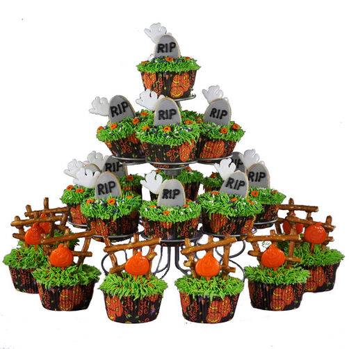 Haunted Heights Cupcakes