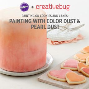 Painting with Pearl Dust and Color Dust CreativeBug Class