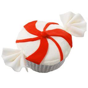 Pinwheel Mint Cupcakes