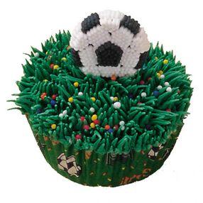 Soccer Team Cupcakes