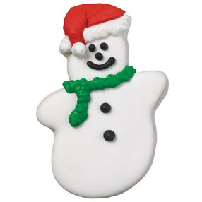 Sir Snowman Cookie