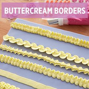 Buttercream Borders Class