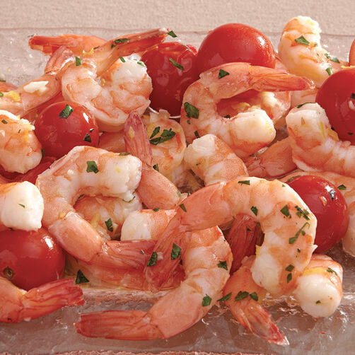 Lemon Pepper Shrimp and Tomatoes