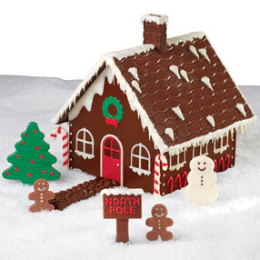 Christmas Chocolate Candy House