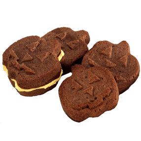 Jack-O-Lantern Sandwich Cookies
