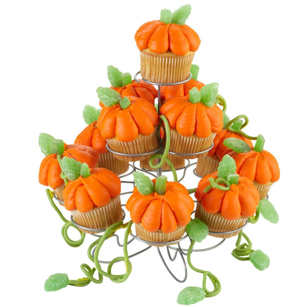 Towering Pumpkin Patch Cupcakes