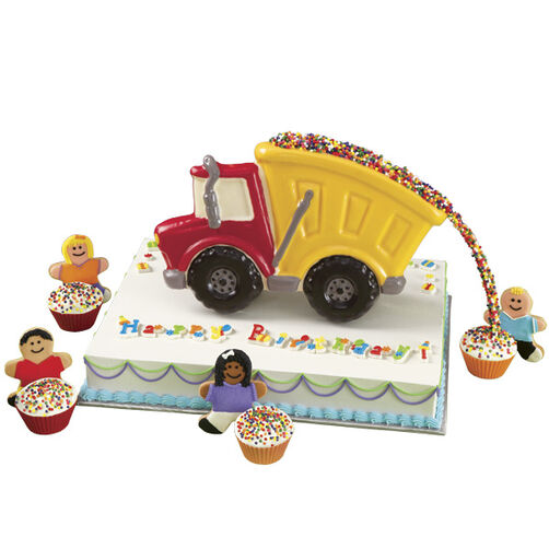 Truck Load of Sprinkles Birthday Cake