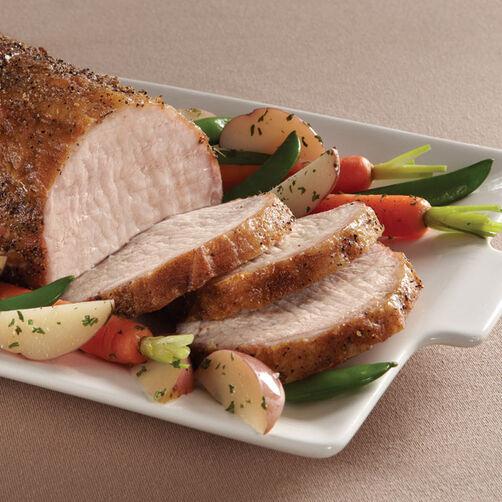 Roast Pork Loin with Apricot Glaze