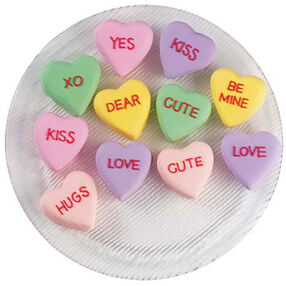 Words of Love Mini Cakes