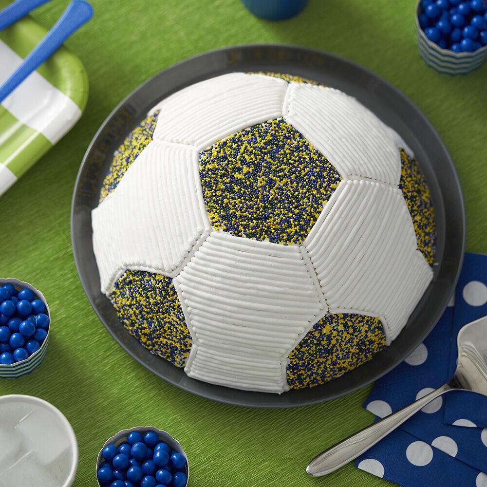 Soccer Cake: Go For The Goalie Soccer Cake