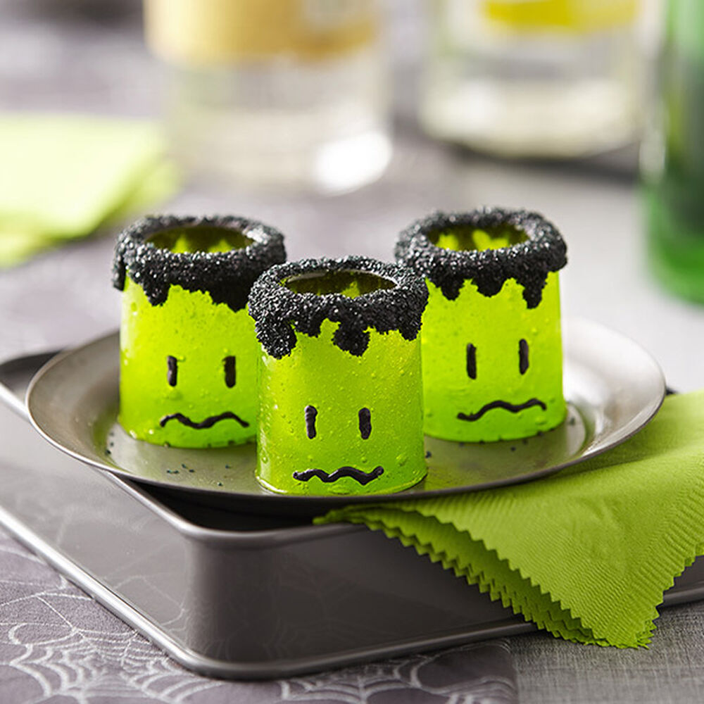 Halloween Candy Shot Glasses Wilton