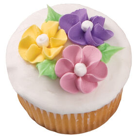 Drop Flower Extravaganza Cupcake