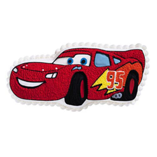 Lightning Mcqueen Cake Pan Decorating Instructions