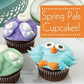 THE WILTON METHOD | SPRING PALS CUPCAKES