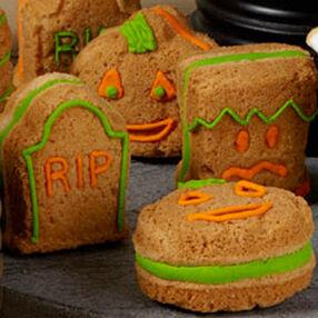 Peanut Butter 3D Sandwich Cookies