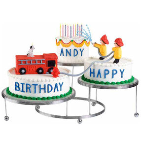 wilton fire truck cake pan instructions