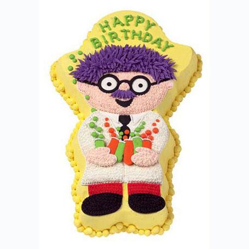 Silly Scientist Cake