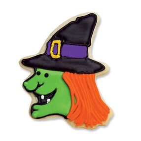 Whimsical Witch Cookie
