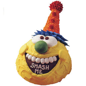 A Smashing Success Smash Cake