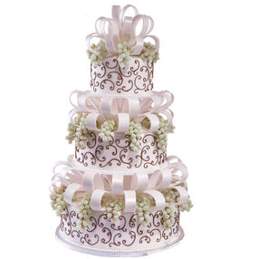 Bunches and Bows Cake
