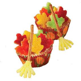 Falling Leaves Cupcakes