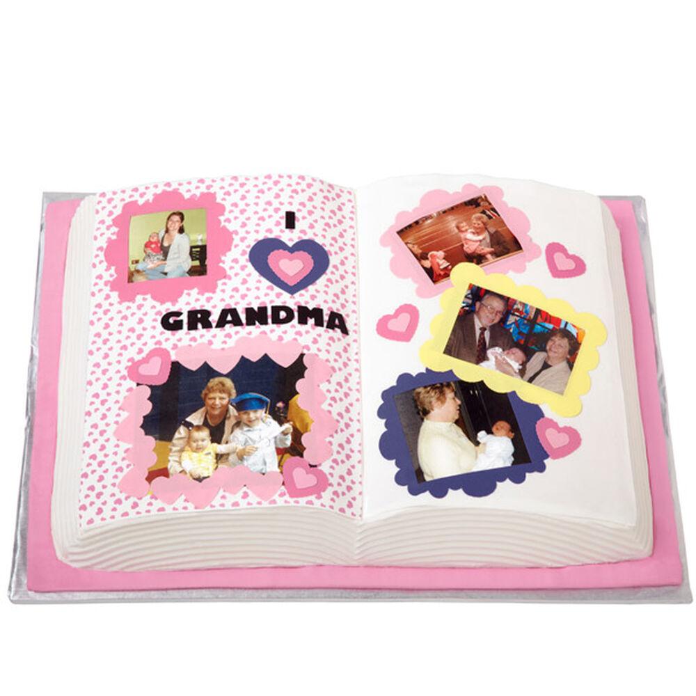 Cake Decorating Idea Books : Layer the Love on for Grandma Cake Wilton