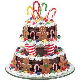 A Very Merry Go Round Cake